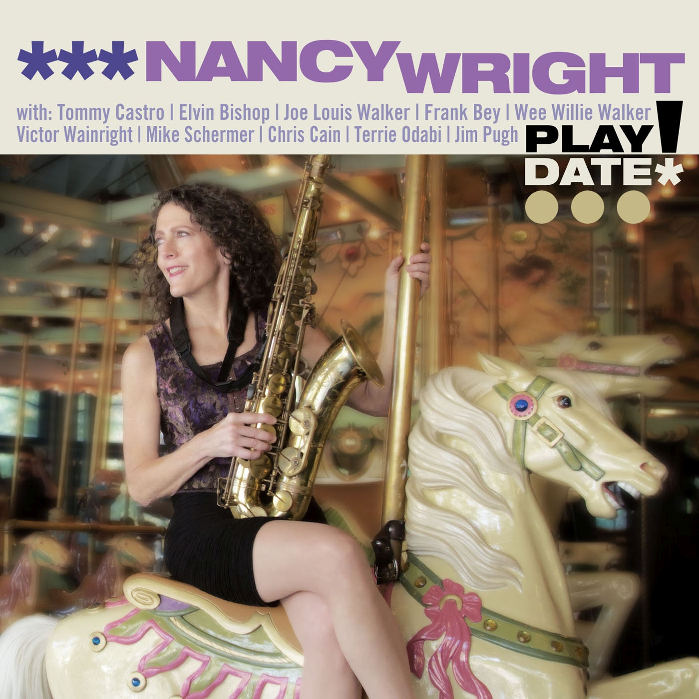 Nancy Wright PLAYDATE! (CD Cover)