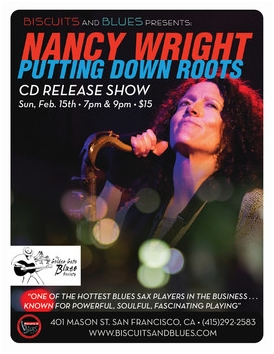Nancy Wright's Biscuits&Blues CD Release Show 2015